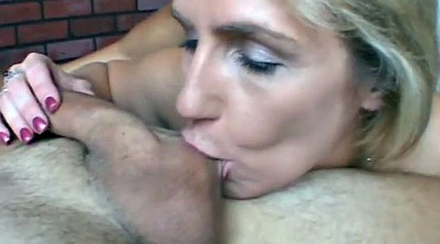 Sloppy, Sloppy blowjob, Old spunkers, Beautiful granny