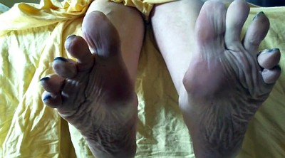 Mature feet, Sole, Mature foot, Mature soles, Foot sole
