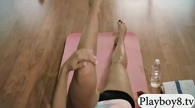 Hot girls, Yoga hot