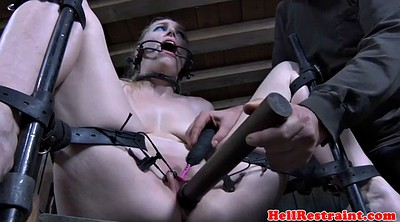 Closed, Pussy close up, Gagging, Restrained