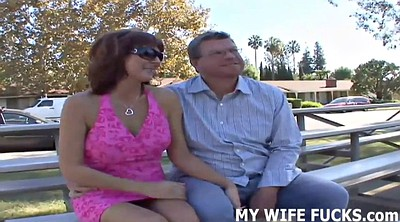 Watching, Watching wife, Real wife, Real cuckold