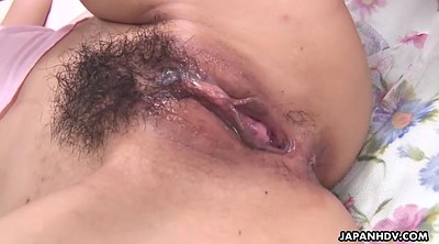 Creampie, Hairy creampie, Japanese creampie, Hairy cumshot, Cute japanese