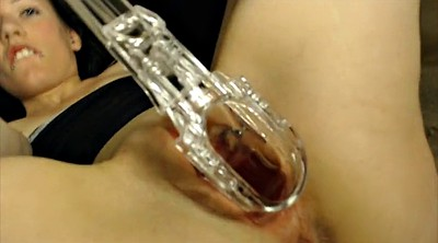 Gyno, Gaping, Speculum, Inside pussy, Pussy gaping, Pierced pussy
