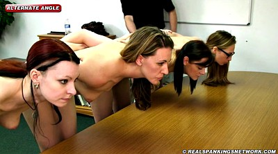 Spanking, Young, College, School girl, Girl, Young girls
