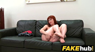 Fake agent, Redhead, Fake, Models, Casting creampie