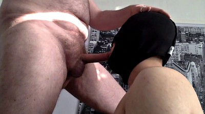 Face, Old and young, Dad cum, Old dad, Cum on face, Cum on cock