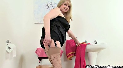 Stockings solo, Stocking masturbation, Elaine