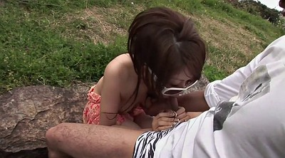 Hairy teen, Oral, Japanese outdoor, Japanese facial