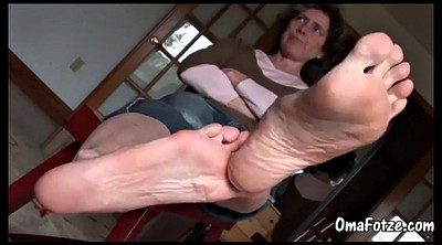 Granny, Old feet, Old foot
