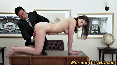Mormon, Rubbing, Young pussy