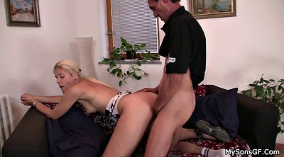 Father, Father in law, In law, Pussy licking, Law, Father-in-law