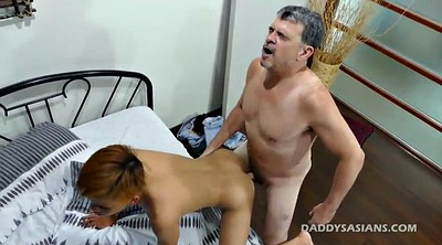 Dad, Asian bondage, Asian boy, Dad gay, Bareback