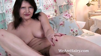 Hairy mature, British mature