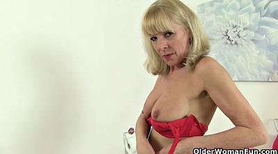 Mature solo, Granny solo, Stockings, Stockings solo, Elaine
