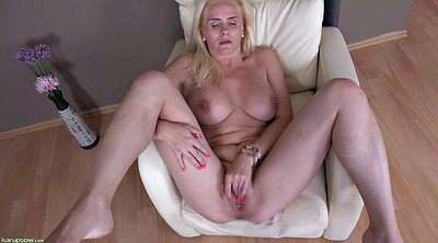 Blonde mature, Busty masturbation, Big tits masturbation, Mature masturbation, Enormous tits