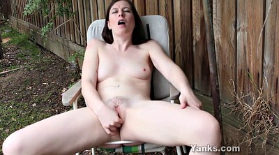 Softcore, Yanks, Masturbation orgasm, Outdoor masturbation
