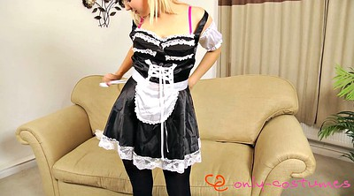 Maid, Cleaning, Cute teen, Dolly