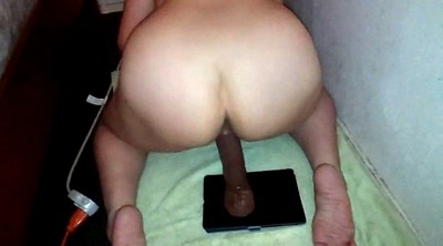 Milf riding dildo