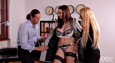 Best, Lingerie threesome, Big guy, Best doggy