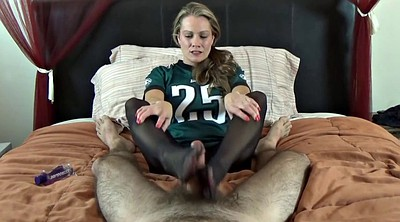 Footjob, Nylon feet, Feet nylon