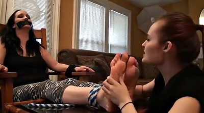 Tied, Foot gagging, Feet worship, Foot gag, Tied feet worship, Feet gagging