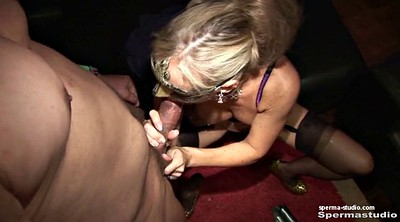 Cum in mouth, Gangbang creampie, German creampie