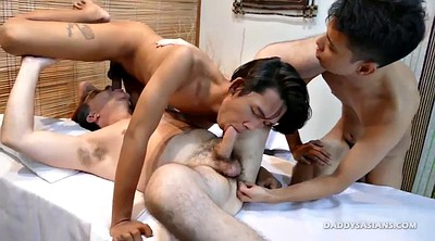 Suck, Young boy, Asian massage, Asian interracial