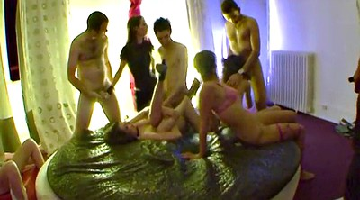 Swingers party, Private, Camera, Voyeur couple