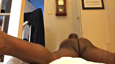 Solo black, Ebony solo, Masturbation bedroom