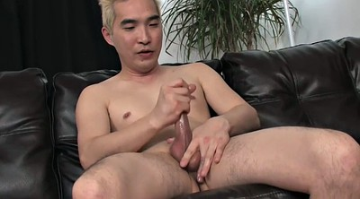 Leather, Asian guy