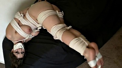 Jane, Foot bondage, Rope, Foot gag