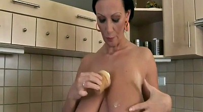 Big nipples, Big breast, Milf solo