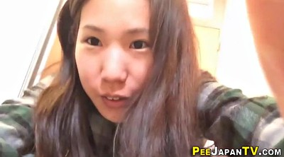 Piss, Japanese teen, Japanese piss, Voyeur piss