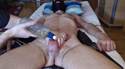 Gay bdsm, Own, Cock milking, Twice