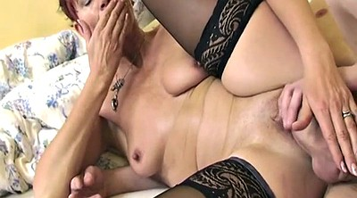 Milf stockings, Stockings mature, Young anal, Mature maid