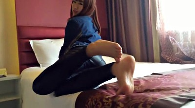 Nylon feet, Nylon foot, Asian foot, Asian feet, Asian nylon