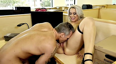 Alyssa lynn, Office mature, Big breasts