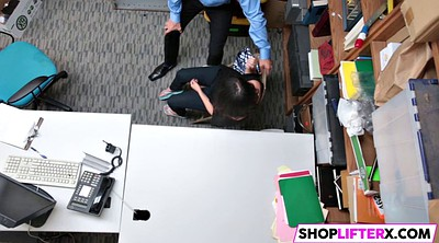 Teen shoplifter