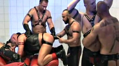 Leather, Orgy, Leather fetish
