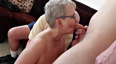 Grandpa, Grandma, Young boy, Mature boy, Mature and boy, Granny threesome