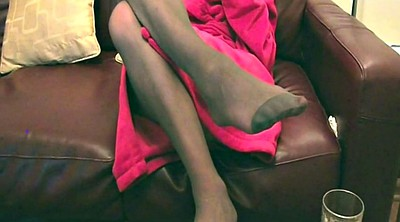 Pantyhose, Nylon feet, Pantyhose feet, Nylon, Foot fetish, Feet nylon