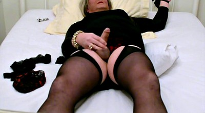 Stocking, Black bondage