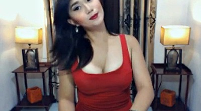 Shemale, Asian webcam, Throat, Shemale webcam