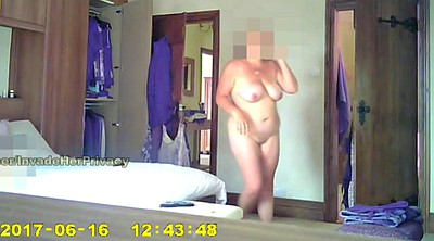 Caught, Dress, Hidden wife, Mature hidden, Bedroom