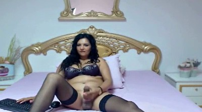Shemale webcam, Shemale huge cock, Huge tits solo