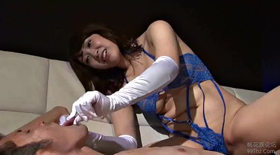 Japanese handjob, Gloves