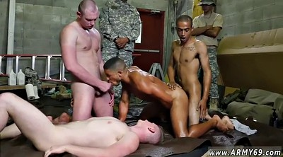Naked public, Military, Gay shower