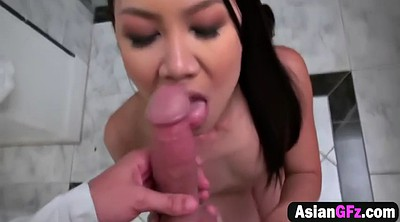 Shave, Asian girlfriend