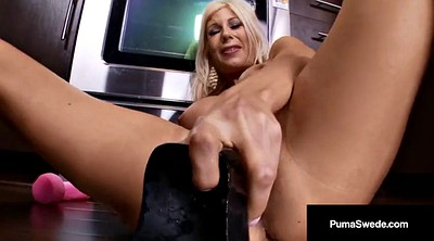 Kitchen, Swedish, Puma swede, Dildo mature