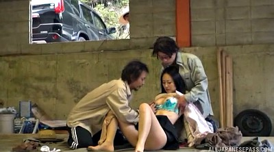 Japanese tits, Japanese double, Japanese couple